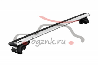картинка Thule Evo Raised Rail багажник на крышу 7104-7113 с перекладинами Evo Wingbar 127см от магазина bgznk.ru