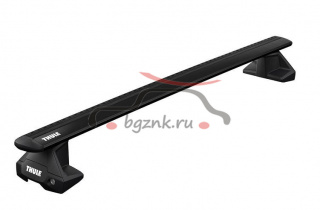 картинка Thule Evo Clamp багажник на крышу с перекладинами Wingbar EVO Black для Ford Ranger 2011- / Mazda BT-50 2012- от магазина bgznk.ru